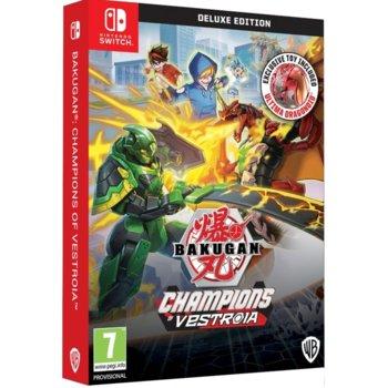 Игра за конзола Bakugan: Champions of Vestroia Deluxe Edition, за Nintendo Switch image