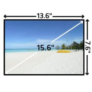 "Матрица за лаптоп LG LP156WH3 (TL)(А2), 15.6"" (39.60cm) WXGAP+, 1366 x 768, гланц image"