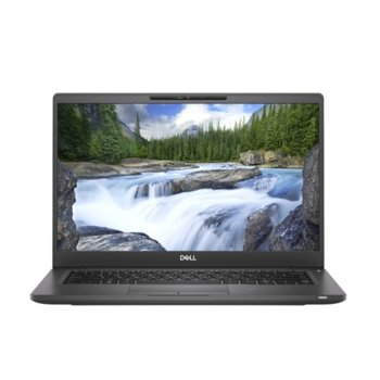 "Лаптоп Dell Latitude 7300 (N057L730013EMEA), четириядрен Whiskey Lake Intel Core i7-8665U 1.9/4.8 GHz, 13.3"" (33.78 cm) Full HD Anti-Glare Display, (HDMI), 16GB DDR4, 512GB SSD, 1x USB Type-C 3.1, Windows 10 Pro  image"