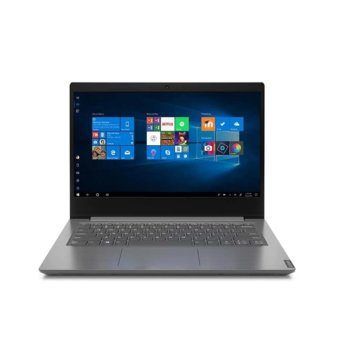 "Лаптоп Lenovo V14 IIL (82C4008GBM)(сив), четириядрен Ice Lake Intel Core i5-1035G1 1.0/3.6 GHz, 14"" (35.56 cm) Full HD TN Anti-Glare Display, (HDMI), 8GB DDR4, 256GB SSD, 2x USB 3.0, Windows 10 Pro  image"