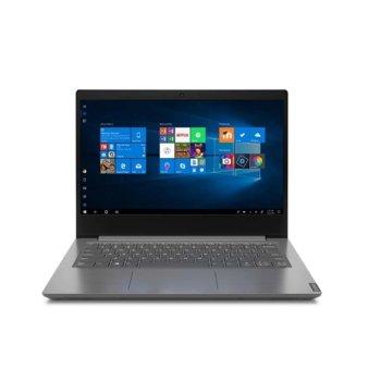 "Лаптоп Lenovo V14 IIL (82C4008GBM)(сив), четириядрен Ice Lake Intel Core i5-1035G1 1.0/3.6 GHz, 14"" (35.56 cm) Full HD TN Anti-Glare Display, (HDMI), 8GB DDR4, 256GB SSD, 2x USB 3.0, Windows 10 Pro  image"