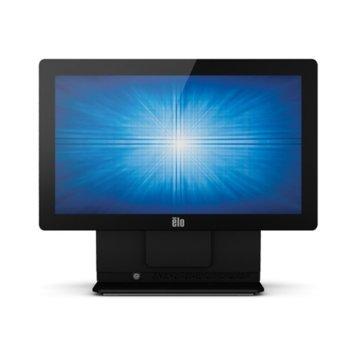 """Тъч компютър ELO E757464 ESY15E2-7UWD-1-ST-NB-4G-1S-NO-00-BK, 15.6""""(39.62 cm) резистивен сингъл-тъч дисплей, четириядрен Bay Trail Intel® Celeron® J1900 2.0/2.42GHz, 4GB DDR3L, 128GB SSD, 4x USB 2.0 image"""