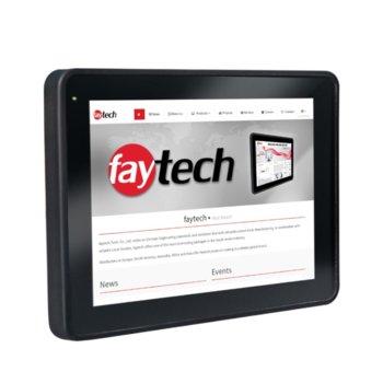 """Индустриален компютър Faytech 1010501621 FT10N4200CAPOB, четирияден Apollo Lake Intel Pentium N4200 1.1/2.5 GHz, 9.7"""" (24.638 cm) Full HD Touchscreen Display, 4GB, 128GB SSD, 2x USB 3.0, Linux image"""