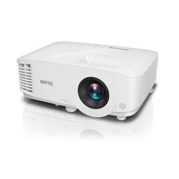 Проектор BenQ MW612, DLP, WXGA (1280x800), 20 000:1, 4000 lm, 2x HDMI, 1x VGA, 1x USB A, 1x USB mini B image
