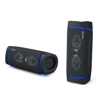Тонколона Sony SRS-XB33, 2.0, Bluetooth 5.0, NFC, 24 часа време за работа, USB-Type-C, IP67 рейтинг, черна image