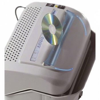 Шредер Kobra 99.721, 52 листа A4, шум 55 DbA, термична защита на двигателя, Turbo mode - повишава мощността на двигателя с 30%, 35 литра image