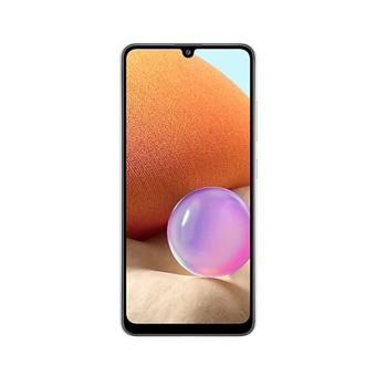 """Смартфон Samsung SM-A325F GALAXY A32 (бял), поддържа 2 SIM карти, 6.4"""" (16.26 cm) Full HD+ Super AMOLED дисплей, осемядрен Mediatek Helio G80 2.0 GHz, 4GB RAM, 128GB Flash памет (+ microSD слот), 64.0 + 8.0 + 5.0 + 5.0 & 20 MPix камера, Android image"""