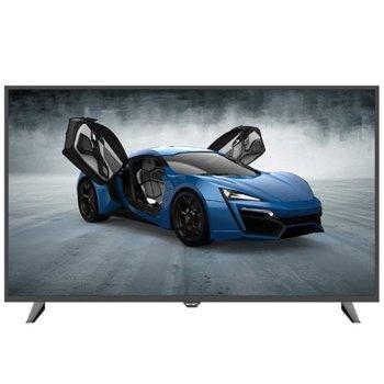 "Телевизор Axen AX49DAL08/0206, 49"" (124.46 cm) LED TV, Full HD, DVB-T2/C/S2, HDMI, 1x USB image"