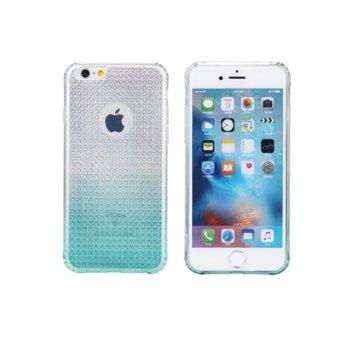 Страничен протектор с гръб Remax, TPU материал, за Apple iPhone 6 Plus и iPhone 6S Plus, син image