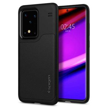 Kалъф за Samsung Galaxy S20 Ultra, хибриден, Spigen Hybrid NX Case ACS00848, черен image