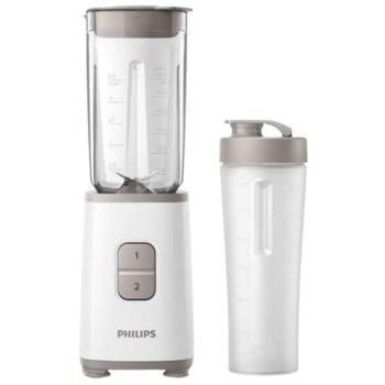 Блендер Philips HR 2602/00, 350 W, 1000 мл. вместимост, 2 степени на скороста, трошене на лед, функциипасиране, бял image