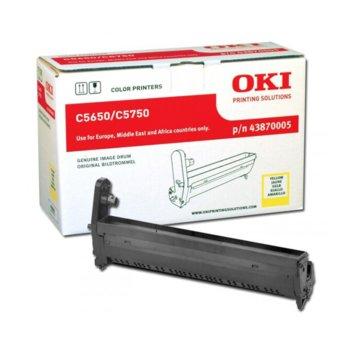 КАСЕТА ЗА OKI C 5650/5750 - Yellow Drum product