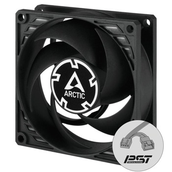 Вентилатор Arctic P8 PWM PST ACFAN00150A, 80mm, 4-pin, 3000 rpm image