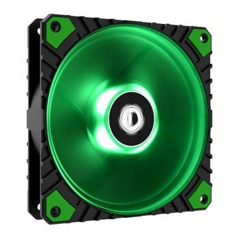 Вентилатор 120mm, ID-Cooling (WF-12025-XT-G), 4-pin, 2200 rpm, зелена подсветка image