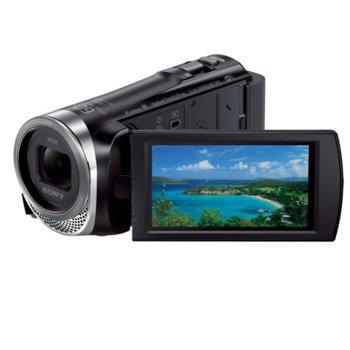 Цфрова видеокамера Sony HDR-CX450, Full HD, max zoom 350x, LCD, black image
