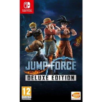 Игра за конзола Jump Force Deluxe Edition, за Nintendo Switch image