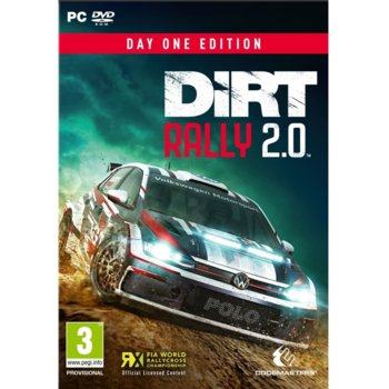 Игра Dirt Rally 2.0 - Day One Edition, за PC image