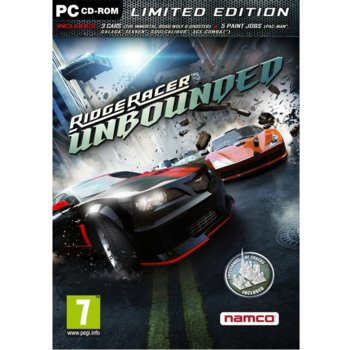 Ridge Racer Unbounded: Limited Edition product