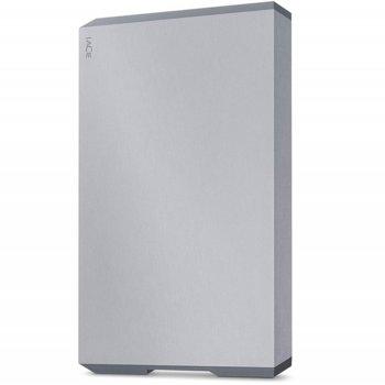 """Твърд диск 2TB, LaCie Mobile Portable Space Gray STHG2000402 (сив), външен, 2.5"""" (6.35 cm), USB Type C image"""