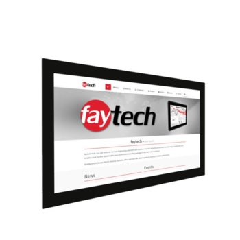 "Индустриален монитор Faytech FT215HDKTMCAPHBOB, 21.5"" (54.61 cm) Full HD Touchscreen, HDMI, DVI-D, VGA image"