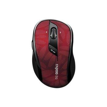 Мишка RAPOO M500, оптична(1600dpi), безжична(Bluetooth 4.0/2.4GHz), USB, черен/черна, 10м обхват image