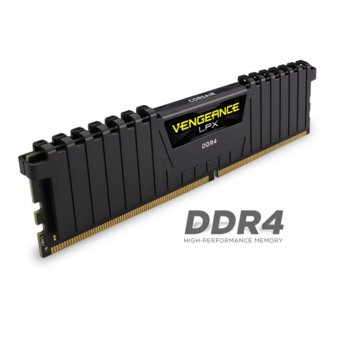 Памет 2x8GB DDR4 3000MHz, Corsair Vengeance LPX CMK16GX4M2B3000C15, 1.35V image