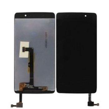 """Дисплей за Alcatel 6055 Idol 4 5.2"""" LCD Original, с тъч, черен image"""
