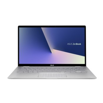 "Лаптоп Asus Zenbook Flip 14 UM462DA-AI012T (90NB0MK1-M02540)(сив), четириядрен Zen 2 AMD Ryzen 5 3500U 2.1/3.7 GHz, 14.0"" (35.56 cm) Full HD Touchscreen Glare Display, (HDMI), 8GB DDR4, 512GB SSD, 1x USB 3.1 Type C, Windows 10 image"