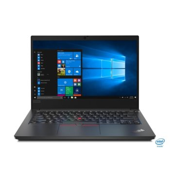 "Лаптоп Lenovo ThinkPad Edge E14 (20RA003ABM/3), четириядрен Comet Lake Intel Core i7-10510U 1.8/4.9 GHz, 14.0"" (35.56 cm) Full HD IPS Anti-Glare Display, (HDMI), 8GB DDR4, 512GB SSD, 1x USB 3.1 Type-C image"