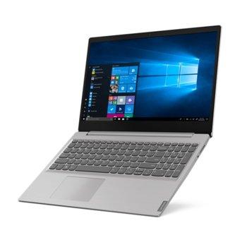 "Лаптоп Lenovo IdeaPad S145-15IWL (81MV0193BM)(сив), двуядрен Whiskey Lake Intel Celeron 4205U 1.80 GHz, 15.6"" (39.62 cm) HD TN Anti-Glare Display, (HDMI), 4GB, 256GB SSD, 2x USB 3.0, Windows 10 Home  image"