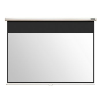 Екран Acer E100-W01MW, електрически екран за стена/таван, Matt White, 2210 x 1590 mm, 16:10 image