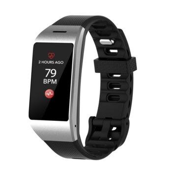 """Смарт часовник MyKronoz ZeNeo, 1.14"""" (2.89 cm) IPS дисплей, до 4 дни време за работа, Bluetooth, водоустойчив IP56, сребрист image"""