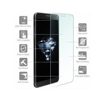 Протектор с калено стъклено защитно покритие, 4smarts Second Glass, за дисплея на HTC U, прозрачен, дебелина 0.3mm image