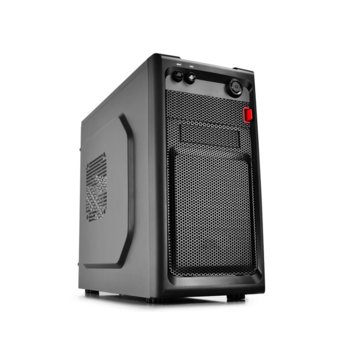 Кутия Estillo Smarter mATX USB 3.0, Micro ATX, Mini ITX, 1x USB 3.0, черна, без захранване image