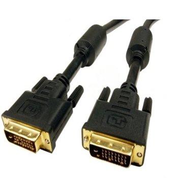 Кабел DVI(м) към DVI(м), 1.5m, черен image