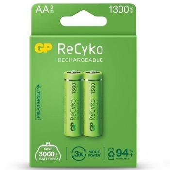 Акумулаторна батерия, GP GPBR130AAHCEB2, AA, R6, 1.20V, 1300mAh, NiMH, 2бр image