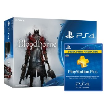 Sony PS4 500GB Bloodborne 90 PS+ product