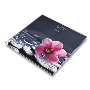 Електронен кантар Beurer GS 215 Relax, капацитет 180 кг, LCD дисплей, индикатор за претоварване, щампа image