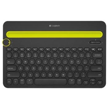 Клавиатура Logitech K480, мултифункционална, черна, Bluetooth image
