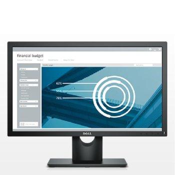 """Монитор Dell E2216HV, 21.5"""" (54.61 cm), TN панел, Full HD 1920 x 1080, 5ms, 200 cd/m², VGA image"""