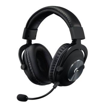 Слушалки Logitech Pro X Wireless Lightspeed, безжични, микрофон, гейминг, до 20 часа издръжливост на батерията, USB, черен image