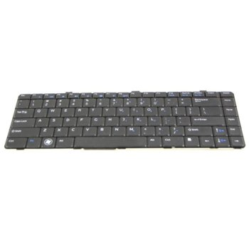 Клавиатура за Dell Vostro V13 V130 Latitude L13, US, кирилица, черна image
