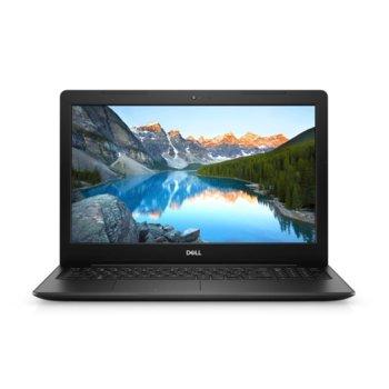 "Лаптоп Dell Inspiron 3593 (DI3593I34G1TUMAPOW_UBU-14), четириядрен Ice Lake Intel Core i5-1035G1 1.0/3.6 GHz, 15.6"" ( 39.62 cm) Full HD Anti-Glare Display, (HDMI), 4GB DDR4, 1TB HDD, 1x USB 3.1 Type C, Linux image"