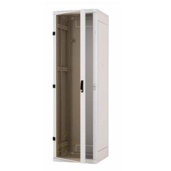 """Комуникационен шкаф Triton RMA-22-A66, 19"""", 22U, 600mm, свободно стоящ, стъклена врата image"""