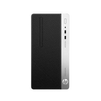 Настолен компютър HP ProDesk 400 G6, четириядрен Coffee Lake Intel Core i3-9100 3.6/4.2 GHz, 8GB DDR4, 1TB HDD, 4x USB 3.1 Gen 1, Windows 10 Pro image