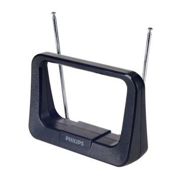 Цифрова антена Philips, усилвател 28 dB, HDTV/UHF/VHF/FM image