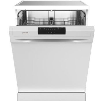 Съдомиялна Gorenje GS62040W, свободностояща, клас E, 13 комплекта, 5 програми, 3 температури, пълен AquaStop, отложен старт, бяла image