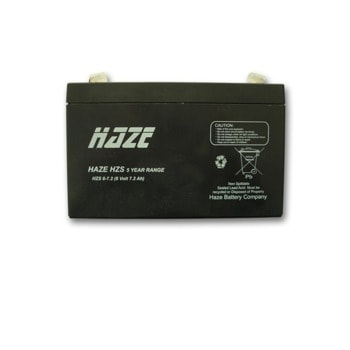 Акумулаторна батерия Haze (HZS6-7.2), 6V, 7.2Ah, AGM image