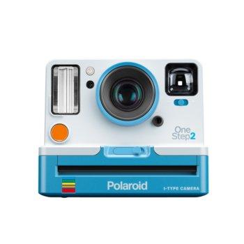 Фотоапарат Polaroid Originals OneStep 2 Viewfinder Summer Blue, Micro USB port, бял/син image
