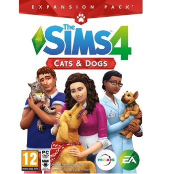 Игра The Sims 4 Cats and Dogs Expansion Pack, за PC image